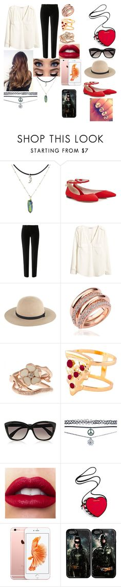 """""""My valentines Outfit"""" by lisavelle ❤ liked on Polyvore featuring Lipsy, The Kooples, H&M, Whistles, Shaun Leane, Glenda López, Alexander McQueen, Wet Seal and Victoria's Secret"""