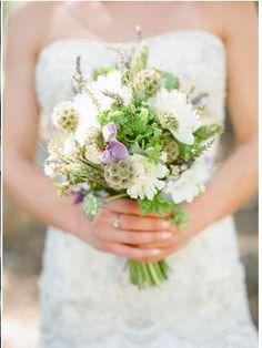 Bouquet mariée champêtre