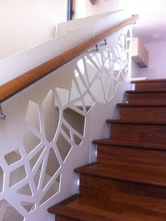 laser cut balustrades - parametric design  Bucharest -Romania