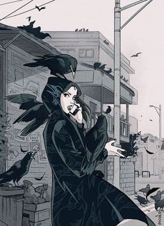 """I'm telling you, it isn't just one following me this time!"" 