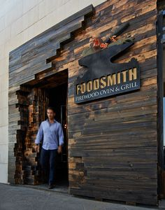 Entrance FoodSmith - FireWood Oven & Grill on Behance FoodSmith - FireW. - Entrance FoodSmith – FireWood Oven & Grill on Behance FoodSmith – FireWood Oven & Gril - Restaurant Branding, Restaurant Bar, Restaurant Entrance, Vintage Restaurant, Salon Interior Design, Restaurant Interior Design, Industrial Restaurant Design, Coffee Shop Design, Cafe Design