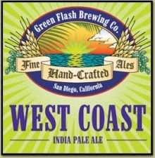 West Coast IPA from Green Flash Brewing Co. in SD