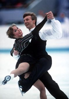 Jayne Torvill and Christopher Dean - Ice Dancing gold medal winners at 1984 Olympics and in 4 consecutive world championships.