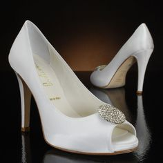 Celeste by Something Bleu Wedding Shoes at My Glass Slipper