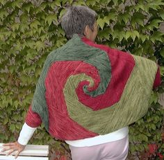 Knit  -- can you imagine how cool this would be in blues?