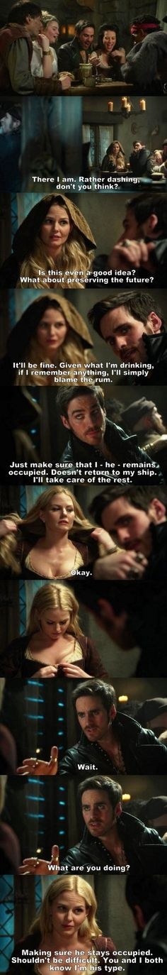 Once Upon a Time S03E21 - Hook & Emma.
