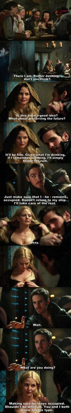 Once Upon a Time S03E21 - Hook & Emma.