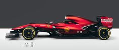 Scuderia Ferrari SF16-T Formula 1 Concept on Behance