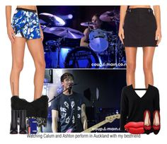 """""""Watching Calum and Ashton perform in Auckland"""" by sixsensestyles ❤ liked on Polyvore featuring Clover Canyon, Topshop, Christian Louboutin, BCBGMAXAZRIA, Christian Dior, NARS Cosmetics, Marc by Marc Jacobs, Michael Kors, STELLA McCARTNEY and Charlotte Olympia"""