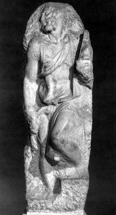 San Matteo, 1504. Michelangelo. Miguel Angel, Stone Carving, Michelangelo, Bud, Opera, Museum, Sculpture, Amazing, Biography