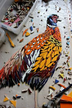 The Garden Wall Mosaic is a community project in progress and was launched in Rotterdam, The Netherlands in May 2013.