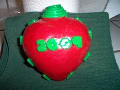 DIY 2009 Christmas Ornament- Polymer Clay