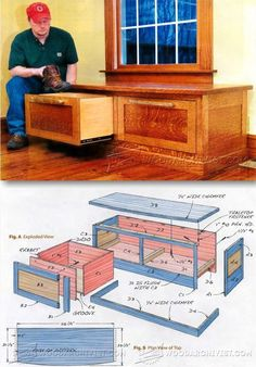 Boot Bench Plans - Furniture Plans and Projects | WoodArchivist.com