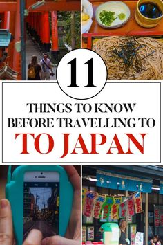 11 Things to know before travelling to Japan