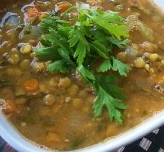 """Hearty Vegetarian Lentil Soup: """"This soup is earthy and so satisfying. I make it at least once a month and it gets better as it sits."""" -kiwiwife"""