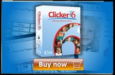 Clicker 6 educational software, literacy software, reading and writing support