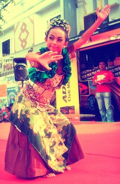 Traditional Dance From West Java Indonesia