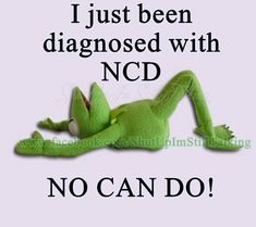 finding this hilarious!No can do funny quotes quote lol funny quote funny quotes humor kermit Lol, Haha Funny, Funny Jokes, Funny Stuff, Funny Life, Funny Happy, Funny Frogs, Kermit The Frog, Sarcastic Quotes