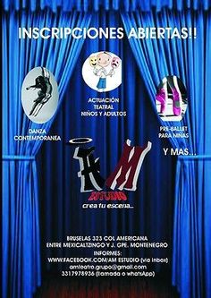 AM ESTUDIO (Talleres de teatro, ballet, danza contemporanea) en Guadalajara INICIAMOS EN MAYO!!  #Estudio, #Talleres, #Teatro, #Ballet, #Danza, #Contemporanea, #Guadalajara, #Iniciamos, #Mayo