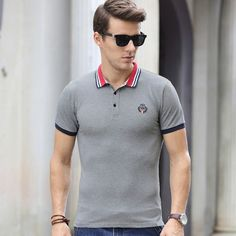 Mens polo shirts New Hair Cut anne with an e new haircut Men Design, New Haircuts, Polo T Shirts, S Man, Lacoste, Shirt Designs, Menswear, Mens Fashion, Hair Cut