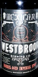 Mexican Cake (Four Roses Bourbon Barrel Aged) - Westbrook Brewing Co.