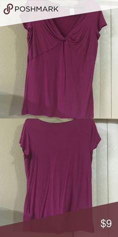 Gently used short sleeve top Pink short sleeve top Tops Blouses