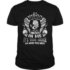 Awesome Tee As A Virgo I Hold A Beast An Angel A Madman In Me T Shirt Shirts & Tees