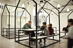 This is what a school should look like! The Vittra school in Stockholm is the school from the future.
