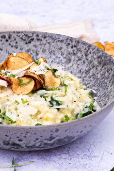 Risotto, 20 Min, Winter Food, Food Porn, Beans, Cooking Recipes, Rice, Chips, Ethnic Recipes