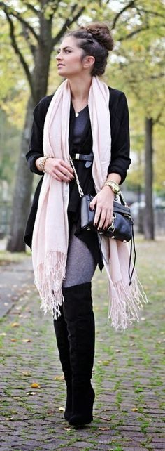 comfy cardigan look - Fashion Hippie Loves