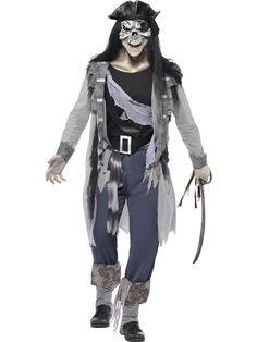Naamiaisasu; Zombie Merirosvo. Zombie Merirosvo on kuin haudasta noussut Jack Sparrow. Tällä naamiaisasulla käännät katseet Halloweenjuhlissa! Halutessasi voit täydentää asua oheistuotteista löytyvillä asusteilla. Sisältää: - takki - housut - kengänpäälliset - vyö