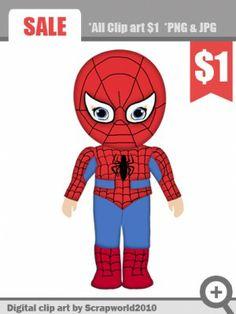 superhero clipart boy