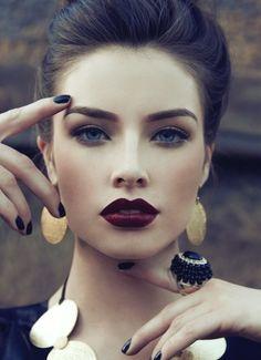 deep winter makeup