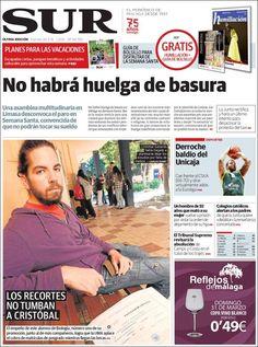 PORTADAS DEL 22 DE MARZO 2013