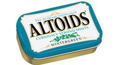 "Altoids Mints Wintergreen Sugar Free 1.76 oz ( Box of 12 Cans ) $24.99 ""FREE SHIPPING"" at www.JGUM.NET"
