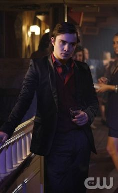 """""""In The Realm of the Basses""""  Pictured: Ed Westwick as Chuck  Photo Credit: Giovanni Rufino / The CW   © 2008 The CW Network, LLC. All Rights Reserved."""