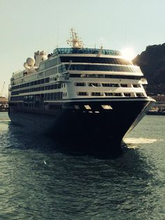 The Azamara Journey - a small luxury cruise ship.