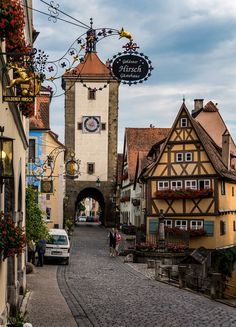 Rothenburg ob der Tauber, Bavaria, Germany by achim-51