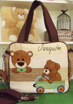 Bolsa Maternidade Ursinhos