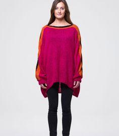 Dorthe Skappel design - stockinette stitch, color block sweater