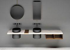 Elisa Ossino Studio Designs Multifunctional Elementi System for Boffi