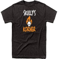 Skullys Korner Signature Series Split Logo | Heather Black & Heather Athletic Grey