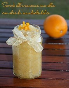Scrub all'arancia e cannella con olio di mandorle dolci- Scrub all'arancia e can. Orange and cinnamon scrub with sweet almond oil- Orange and cinnamon scrub with sweet almond oil Orange and cinnamon Hobbies And Crafts, Diy And Crafts, Learning Tower, Essential Oils Soap, Handmade Cosmetics, Beauty Case, Facial Cleansers, Diy Presents, Orange Oil