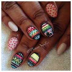 #Tribals #nails #nailart