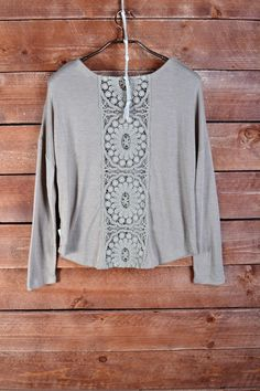 Play the Part Sweater-Beige Loving this color and cool back detail