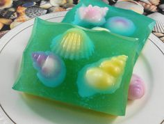 Soap  Tide Pools Soap  Glycerin Soap  Handmade Soap  by SoapGarden, $6.50