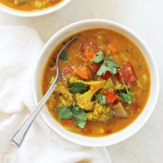 Turmeric Quinoa Vegetable Soup