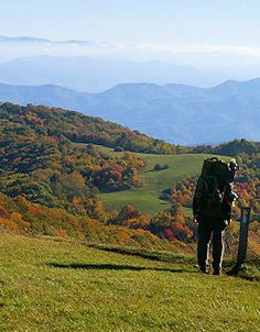Max Patch -  Best hiking in & around Asheville, NC. I can't wait explore some of these places!