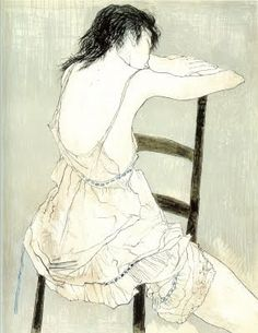 Untitled artwork by Jean Jansem Modern Artists, French Artists, Figure Painting, Figure Drawing, Graphic Design Illustration, Illustration Art, Soul Art, Portrait Art, Portraits
