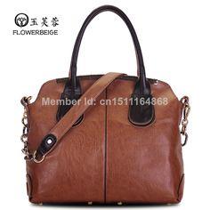2014 women messenger bag women leather handbag fashion vintage one shoulder bag british style handbag cross-body women totes hot US $13.00